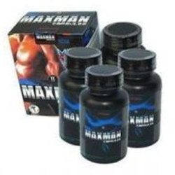 美國MAXMAN威猛增大膠囊(4瓶)