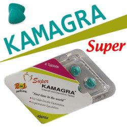 Super KAMAGRA 助勃延時雙效錠(雙效威而剛)