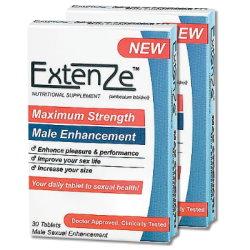 美國ExtenZe草本陰莖增大丸(2盒)