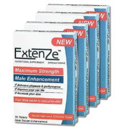 美國ExtenZe草本陰莖增大丸(4盒)